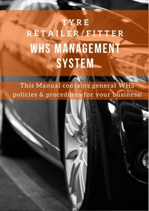 Tyre Retailer & Fitter:  WHS Management System