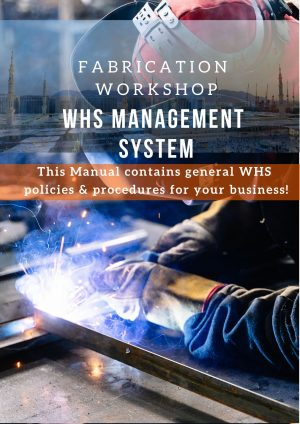 Fabrication Workshop: WHS Management System