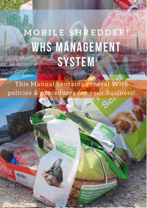 Mobile Shredder: WHS Management System